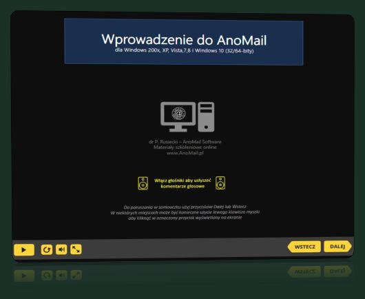 Samouczek wprowadzenie do AnoMail