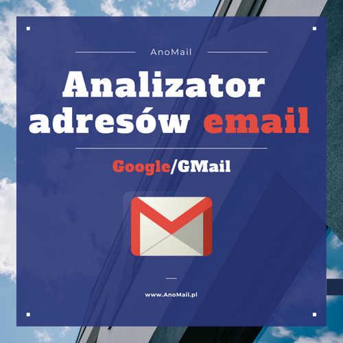 Wykryte adresy z serwerów Google/GMail