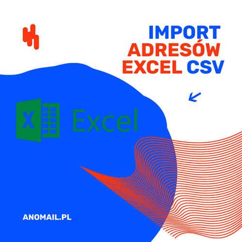 Import i eksport adresów e-mail