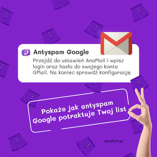 Tester antyspamowy online Google