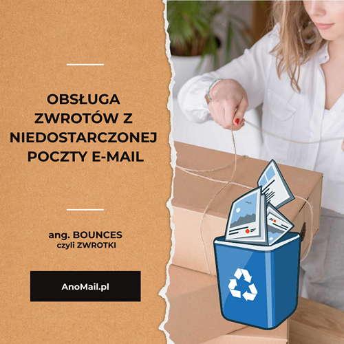 Obsługa odbić z niedostarczonej poczty e-mail