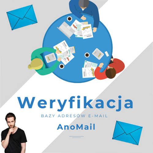 Weryfikacja adresów w AnoMail