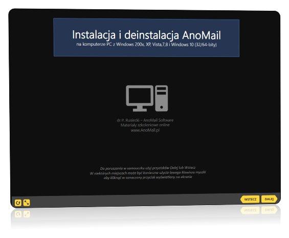 Instalacja oprogramowania AnoMail