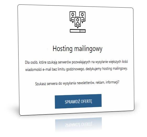 Serwery do mailingu i zapytań