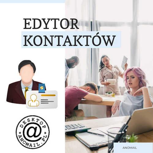 Edytor kontaktów