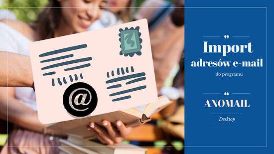 Funkcje do importu adresów email