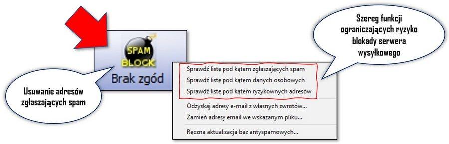 Czyszczenie baz adresowych do mailingu