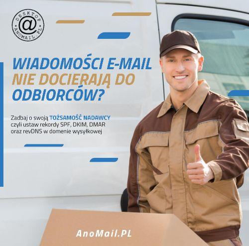 E-maile nie docierają do odbiorców?
