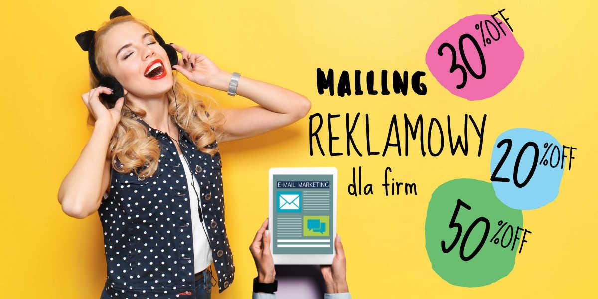 Wysyłanie ofert czyli mailing reklamowy